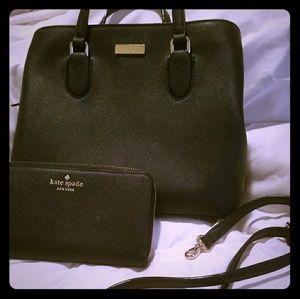 Kate Spade Bag and Wallet Set